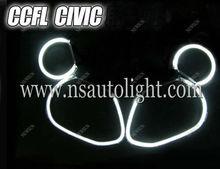 Wholesale CCFL Angel Eyes/Halo Rings Car headlight Kits for CIVIC