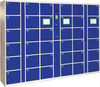 China manufacture wholesale steel metal supermarket customized electronic locker