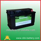 CBB high quality DIN/JIS 57113 car batteries maintenance free