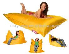 Giant Beanbag YELLOW - Indoor & Outdoor Bean Bag - MASSIVE 180x140cm - GREAT for Garden