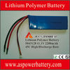 11.1V 4500mAh 45C rechargeable 3s li-polymer battery pack for power tools