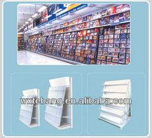 store shelf/Audio shelf/video shelf/bookshelf/supermarket shelf