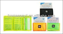 2013 fashion folding travel card bag