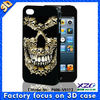 3D mobile phone cover for iphone 4/4S
