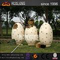 1.8m alta animatronic dinossauro artificial ovos