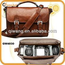 GW4030 SLR camera shoulder bag genuine leather sling bag