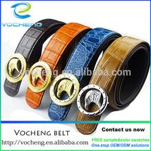 mens colorful genuine leather belt