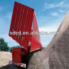 2015 China FOTON 3 axles side dump semi-trailers side dumping semi trailer
