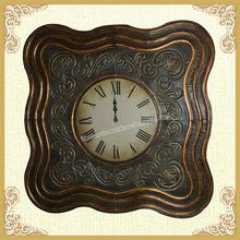 Wholesale beauty fancy metal wall clock handicraft