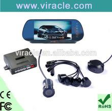 car reversing aid rear view system rear view mirror parking sensors