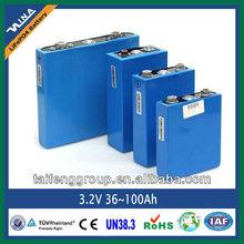 3.2V Prismatic lifepo4 battery for e-vehicle