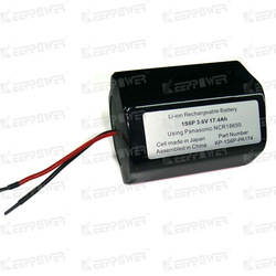 1S6P KeepPower li-ion 3.7v 17Ah Panasonic battery NCR18650 rechargeable battery pack