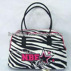 Zebra Duffle Carrying on Travel Bag