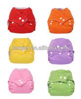 Waterproof snap design baby diaper