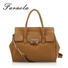 Top brand famous ladies office retro leather mature women handbags