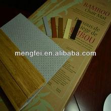 office chair mat (bamboo)