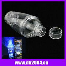 Led flashing cocktail shaker for the bartender,party decorative,festival celebration