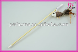 2013 Hot nature cat toy,new style funny cat dangler ,cat toy