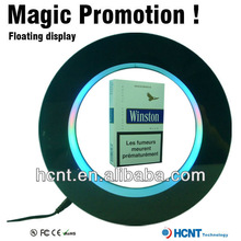 Hot sale Magnetic levitating acrylic advertising display for cigarette