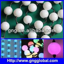 50mm pixel led ball light string outdoor;dvi dmx led video pixel
