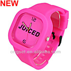 Newest 5ATM Waterproof TOP Quality Watches Custom Jelly watch Silicon Watch