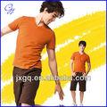 100% coton nouvelle conception simple t-shirts top tee mode baseball t-shirts en gros