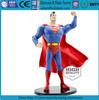 superman plastic action figure;soft cape custom pvc action figure;high quality action figure