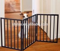 Wood pet gate Dog gate