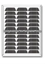 Hot selling! solar panel 15 watt mono, with TUV
