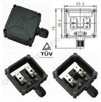 PV 50W TUV solar module plastic junction combiner box