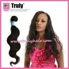 wholesale grade 6a Brazilian hair,unprocessed Body wave, dhl shipping
