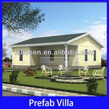 modern light steel structure prefab home mobile luxury villas