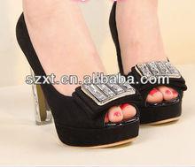 Fashion peep toe high heel platforms pumps for women latest girls sexy high heel shoes ladies 2014 cheap high heel peep toe