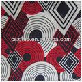 Baratos e de qualidade de padrão impresso tecido de algodão para os sapatos/saco/vestido/vestuário