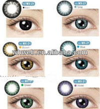 Wholesale Crazy Tri Color Contact Lens, Contact Lens Big Eyes