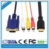 high quality hdmi to vga 3rca cable