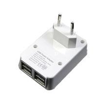 EU 5V 4.6A Quad USB Chargers 4 USB Chargers 4 Port USB Chargers U4001