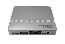 new Cloud mini computer X2550 CPU:Dual-core 1.86GHZ , INTEL D2550,DDR3