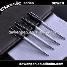2013 dewen metal retract mechanism ball pen quality ball pens