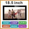18.5 inch Photo Digital Frame with HDMI