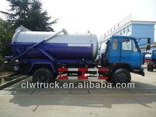 Dongfeng 145 vácuo de sucção do caminhão, 4x2 de esgoto a vácuo caminhão tanque
