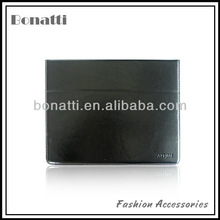 Wallet style leather microfiber covers for Ipad and tablet computer
