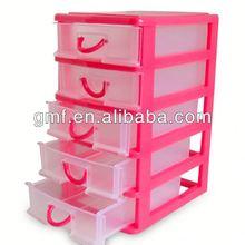 2013 hot sale popular plastic jewelry storage drawers