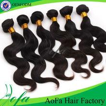 Customer good feedback virgin brazilian hair bundles