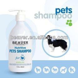 Beaver natural dog shampoo