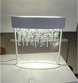 vente chaude en cristal moderne table de chevet lampe pour la maison décoration chambre à coucher