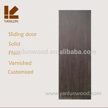 Hot sale traditional design simple MDF flat sliding door used