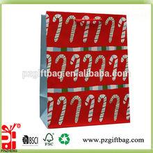 christmas jewelry paper bags flame retardant