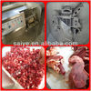 SQD-550 stainless steel poultry meat cutting machine