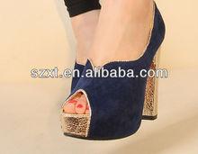 2014 fashion ladies peep toe high heel sandal boots mature sexy platforms high heels shoes for women